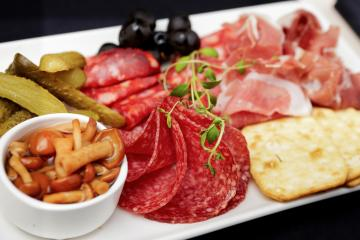 Our cold cuts platter is great for any event whether it's a wedding, birthday party or corporate lunch.