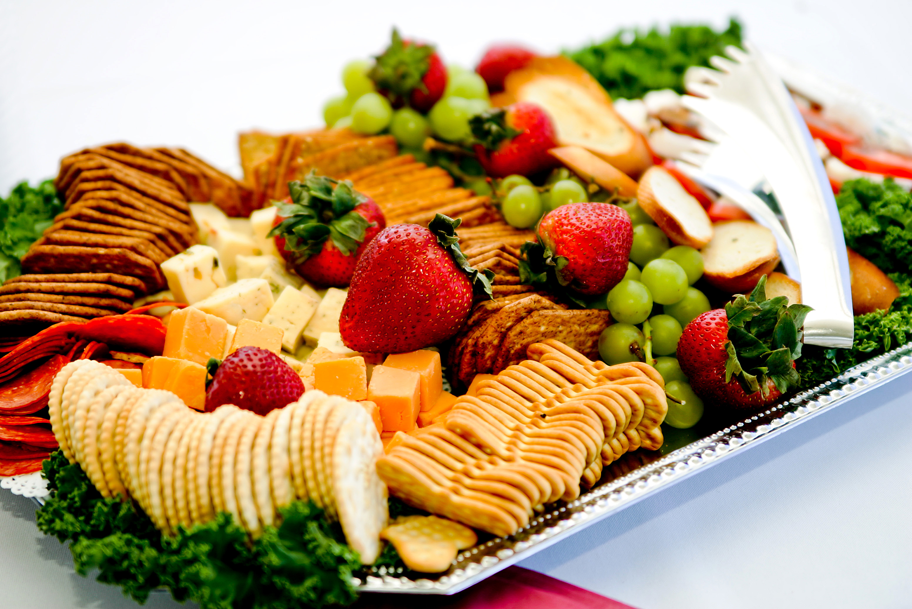 Cheese Cracker Platter Corporate Catering Photos